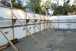 Fab-Form Bracing System for ICF Wall Construction in CO